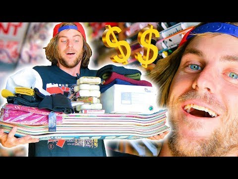 ANYTHING YOU CAN CARRY, I'LL PAY FOR CHALLENGE! (SKATESHOP EDITION)