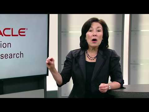 Oracle Higher Education - Safra Catz's View from the C-Suite