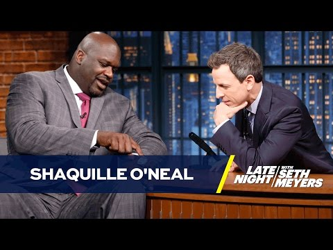 Shaquille O'Neal Is a Hall of Fame Ambassador of Fun