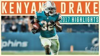 Kenyan Drake 2017 Miami Dolphins Highlights | Go Legend |