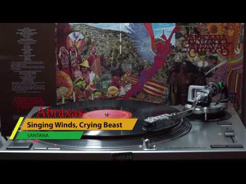 Santana 180gr 2016 Reissue VINYL Singing Winds, Crying Beast
