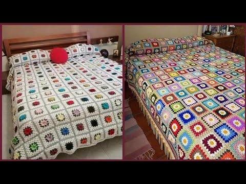 Outclass And Wonderful Crochet Bedsheet Design
