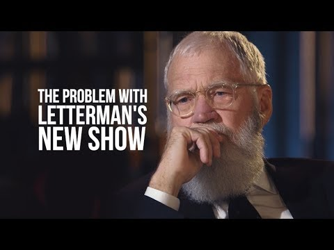 """Editing an Interview - David Letterman's """"My Next Guest"""" Has a Distracting Problem."""