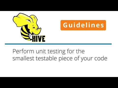 Hive Guidelines