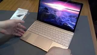 Asus ZenBook 3 Hands-On