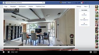How to add a Virtual Tour to Facebook