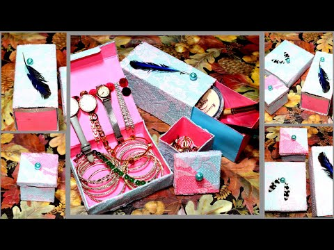 Jewellery and Makeup Organizer | diy Makeup Organizer | diy jewelry organizer box