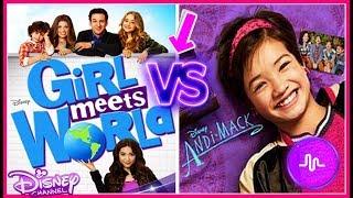 Girl Meets World VS Andi Mack Musical.ly Battle | Disney Channel Stars Best Musically 2017