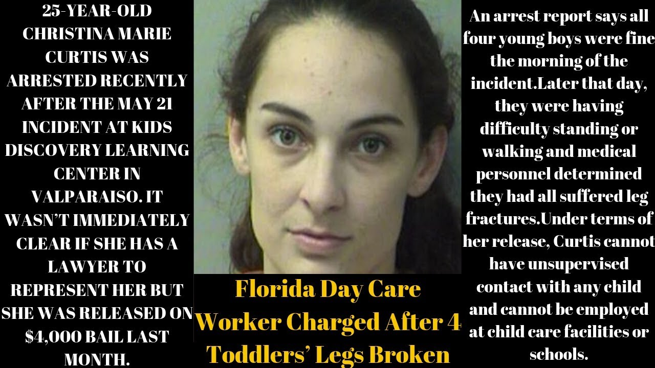 |NEWS|Daycare Worker Was Caught Breaking The Legs Of 4 Different Toddlers On The Same Day