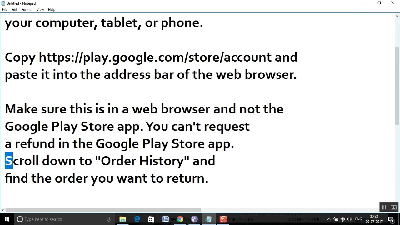 How to refund your mistakenly In-App paid amount from Google Play ...