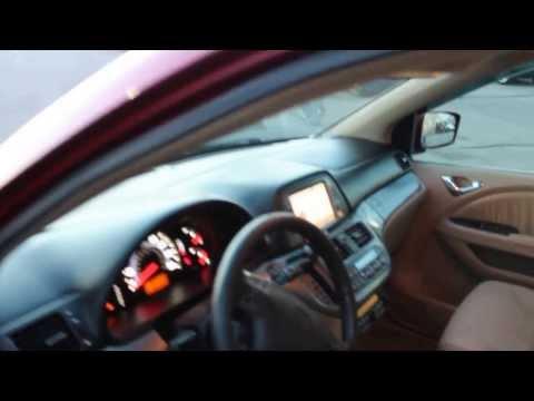 5380 - 2006 Honda Odyssey Touring DVD NAV Red 165k