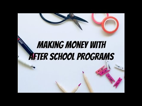 How To Make Up To $200 An Hour Playing With Kids: An Intro To After School Programs