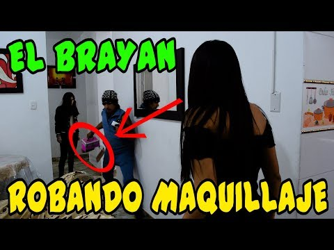 EL BRAYAN ROBANDO MAQUILLAJE - Loco IORI