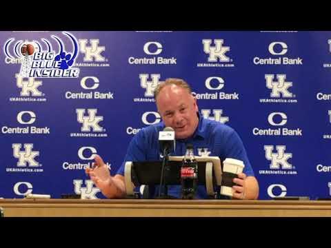 Mark Stoops pre South Carolina press confrence