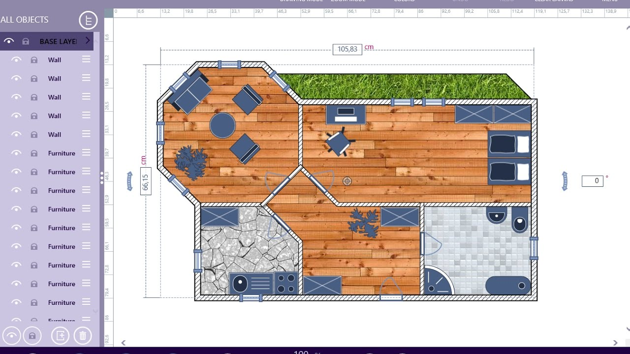 architech sketchpad how to draw a floor plan tutorial youtube