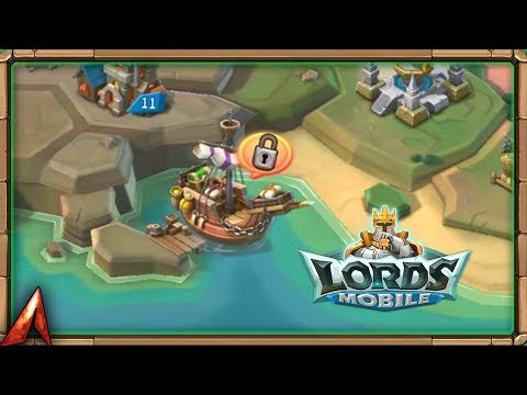 Unlocking The Cargo Ship! Lords Mobile Stream!