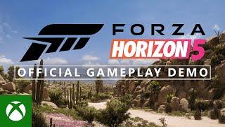 Forza Horizon 5 Offİcial Gameplay Demo - Xbox & Bethesda Games Showcase 2021