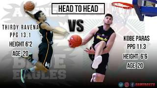 Who's Better : Kobe Paras vs Thirdy ravena must watch!