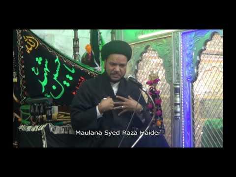 Mohabbat-e-Ahlebait Nejaat ka Raasta [Lecture 3/5] - Maulana Syed Raza Haider