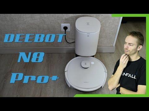 Un aspirateur robot plus autonome ?! DEEBOT N8 Pro+