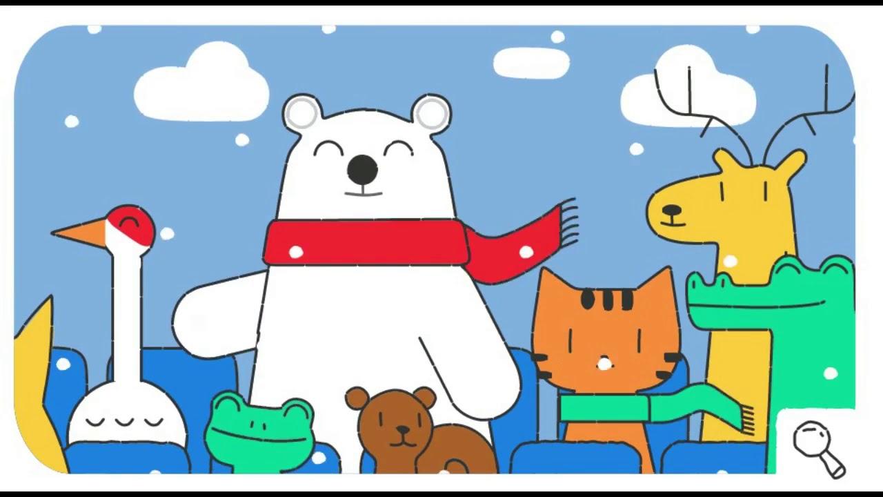 4d120e65aef3 Doodle Snow Games - Day 1