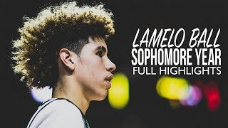 LaMelo Ball Sophomore Year FULL HIGHLIGHTS - Youngest Ball Bro May Be The BEST!