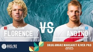 John John Florence vs. Kolohe Andino - FINAL - Drug Aware Margaret River Pro 2017