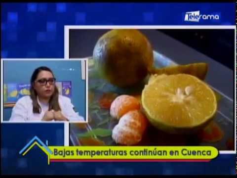Bajas temperaturas continúan en Cuenca