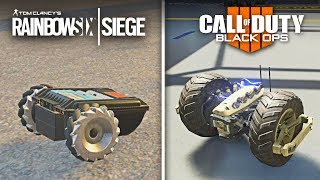 Rainbow Six Siege vs Call of Duty: Black Ops 4 Gadgets Comparison (Operators vs Specialists)