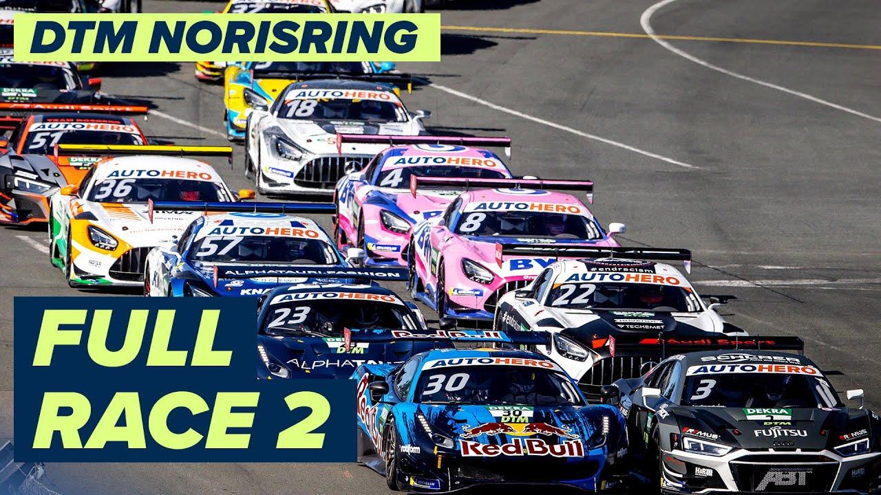 RE-LIVE | DTM Race 2 - Norisring | DTM Norisring powered by BWT Season Finale 2021