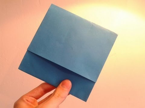 Easiest Paper CD Case - YouTube