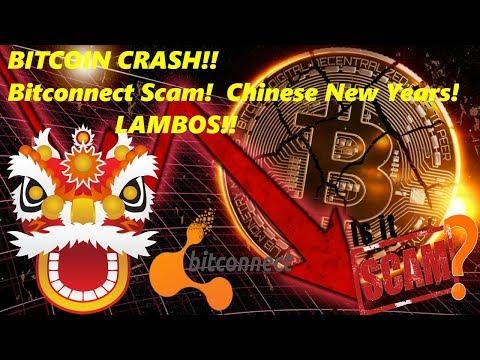 Crypto Currency News Bitcoin CRASH BITCONNECT SHUTDOWN Chinese New Years