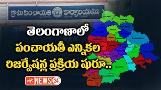 Reservations Schedule Process Started In Telangana for Panchayat Elections 2018   YOYO NEWS24