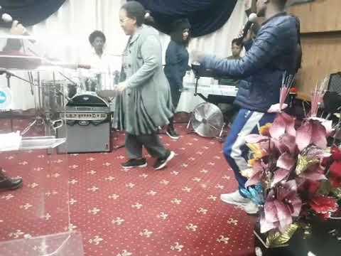Eritrean east african  born again  christians worship in london uk tooting high street