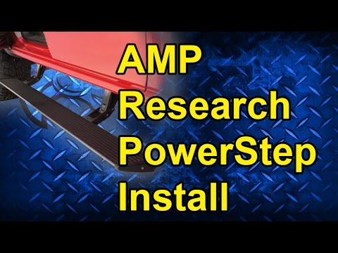 Amp Research PowerStep Install: 2014 Dodge Crew Cab Short Bed #75138-01A