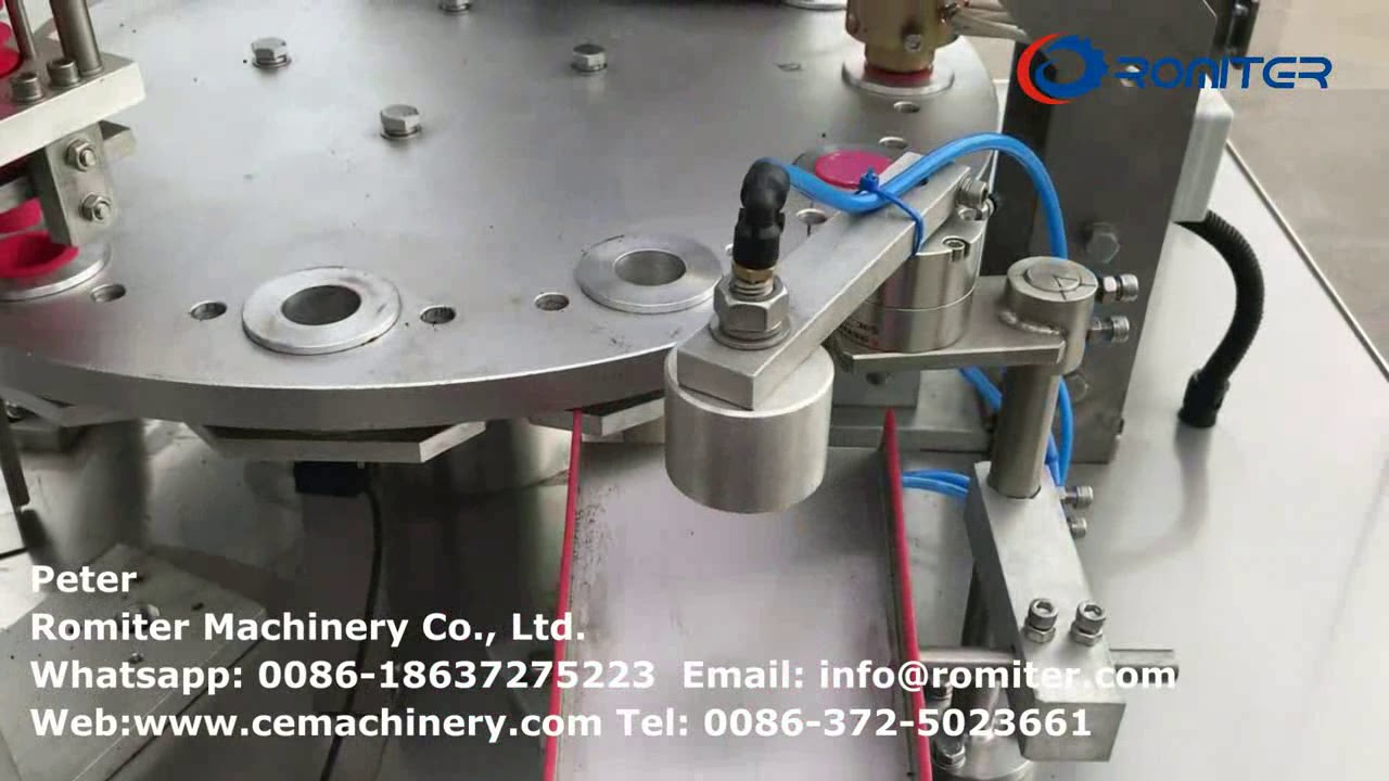 Roll Film HRMY-1 Nespresso Capsules Filling Sealing Packing Machine for  Kuwait Customer