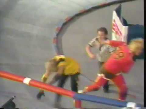 roller derby rollermania 1987 san francisco vs southern stars