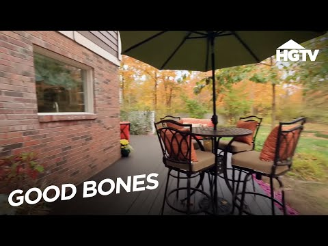 Outdoor Living Space Tips   Good Bones   HGTV