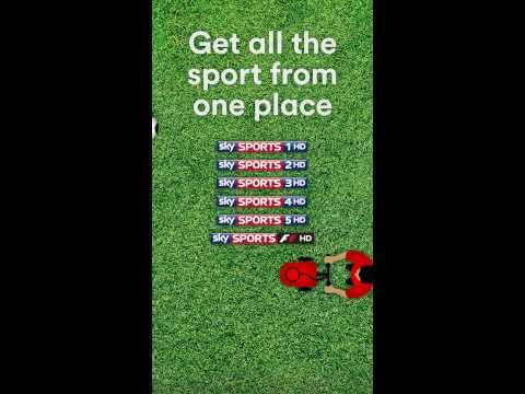 Virgin Media - Get More Sports Digital Window