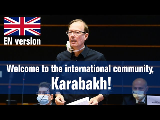 Welcome to the international community, Karabakh!