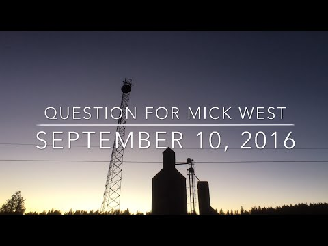 Question for Mick West, 9-10-16