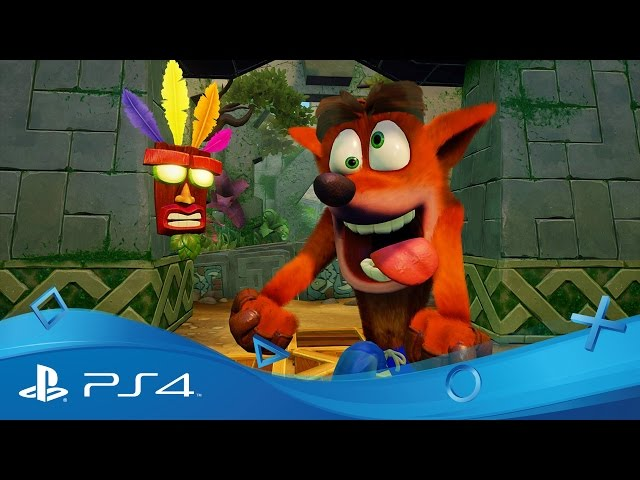 Crash Bandicoot: N. Sane Trilogy | PSX 2016 The Come Back Trailer | PS4