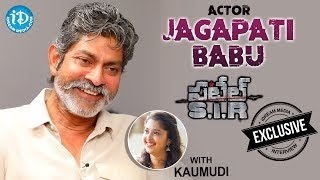 Actor Jagapati Babu Exclusive Interview || #PatelS.I.R || Talking Movies With iDream #437