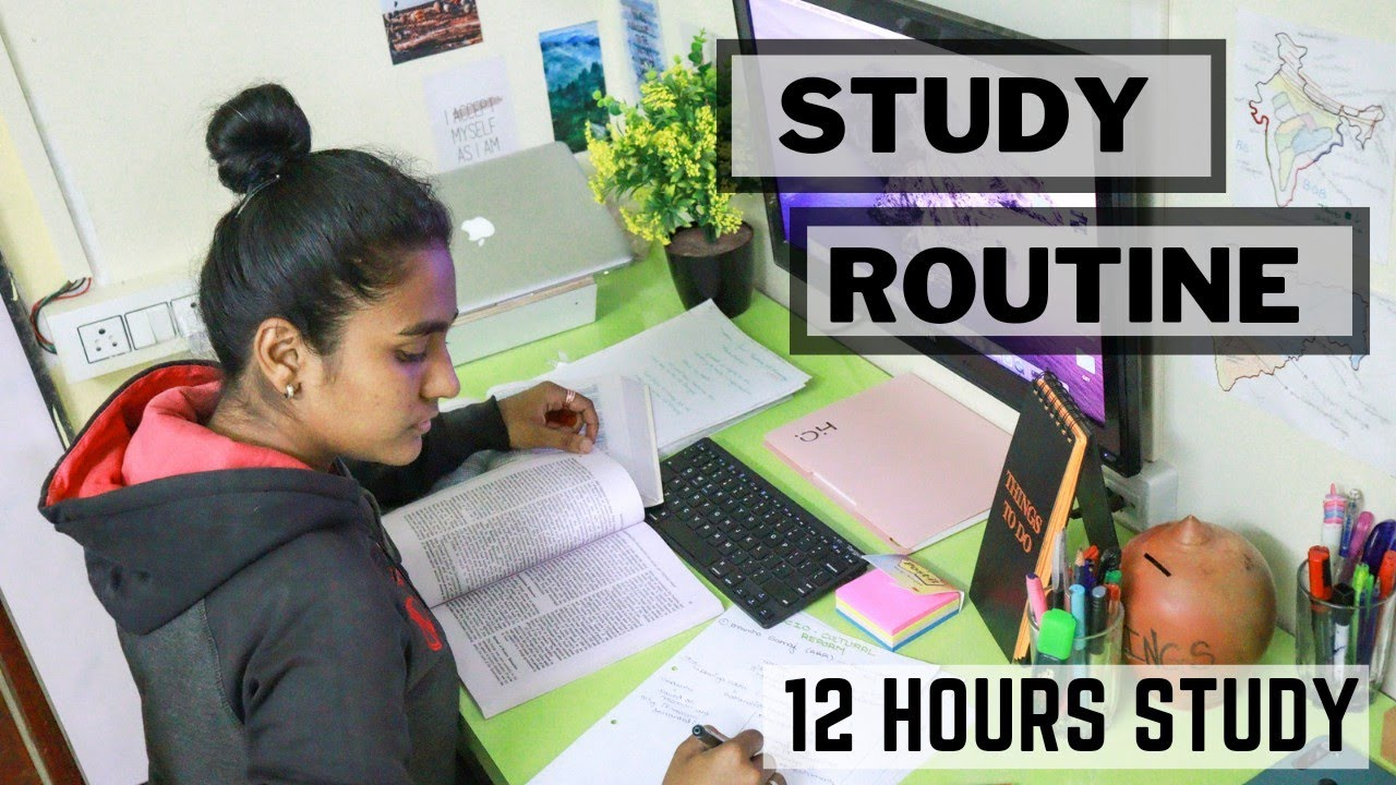 Download DAILY STUDY ROUTINE of a UPSC Aspirant   12 hours of study ( 9 AM  to 3 AM )    Exploring dreams