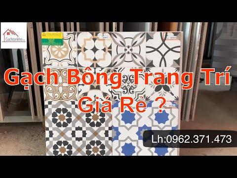 Gạch bông trang trí 30x30 giá rẻ - Xu hướng gạch trang trí 2020