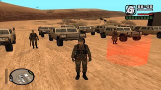 GTA san andreas - DYOM mission # 77 - Civil Riot