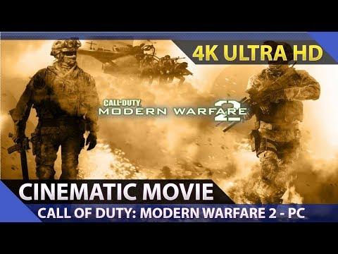 Call of Duty: Modern Warfare 2 - Cinematic Movie / PC 4K Ultra HD 60fps