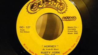 "Rusty York ""horny"""
