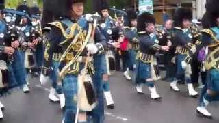 R.A.F. Freedom of St.Andrews March past  for last time on 10th May 2014