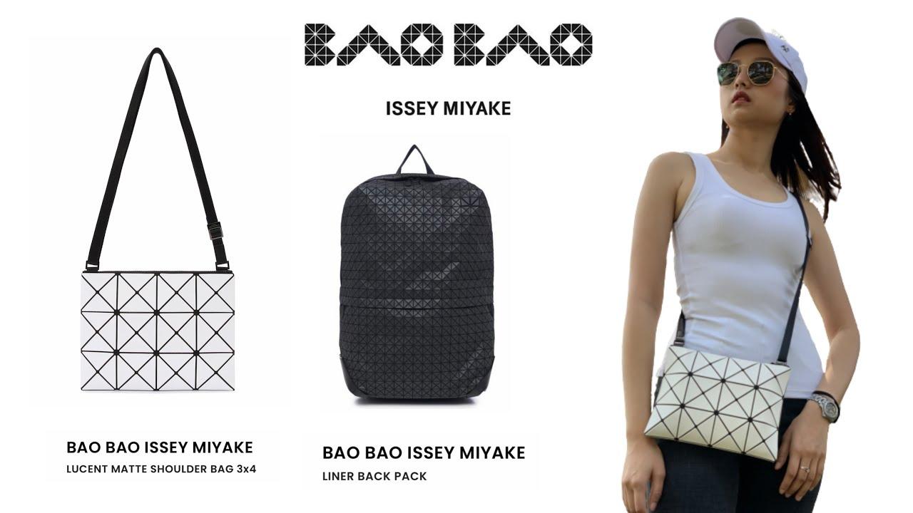 รีวิว กระเป๋า ใบเล็กสุดน่ารัก BAO BAO ISSEY MIYAKE และ กระเป๋าเป้ BACK PACK เท่ห์ ดุดัน ทันสมัย